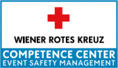 Logo Wiener Rotes Kreuz Competence Center Event Safety Management