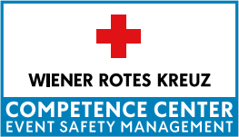 Logo Wiener Rotes Kreuz Competence Center Event Safety Management